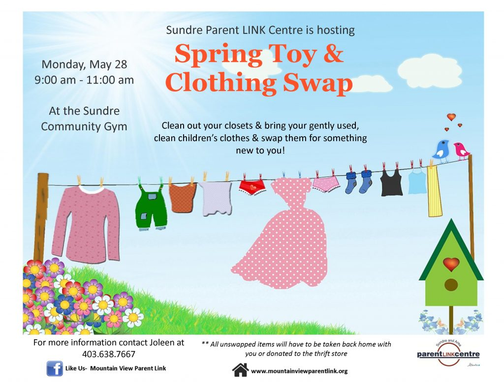 Active Play & Toy & Clothing Swap @ Sundre Community Gym