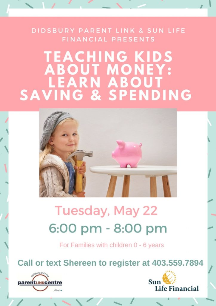 Teaching Kids About Money: Learn About Saving & Spending @ Didsbury Neighborhood Place